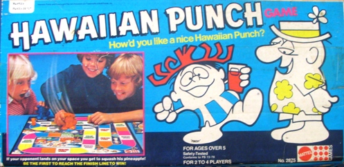Hawaiian Punch Board Game
