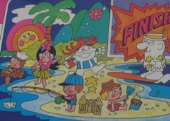 Hawaiian Punch Board Game Art